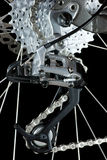 MTB rear derailleur Royalty Free Stock Photography