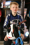 Mtb rider teen. Royalty Free Stock Photos