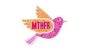 MTHFR Animated Word Cloud