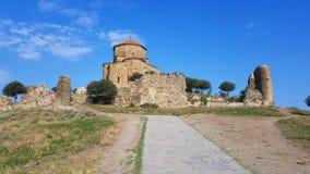 MtJvari kloster, nära Mtskheta, Georgia arkivfoto
