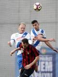 MTK Budapest V Budapest Honved - bank Liga 1-2 för ungrare OTP Arkivbilder