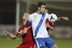 MTK Budapest vs. DVSC OTP Bank League football match Royalty Free Stock Image