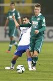 MTK Budapest vs. Gy�ri ETO FC Royalty Free Stock Photo