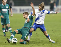 MTK Budapest vs. Gy�ri ETO FC Stock Photos