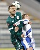 MTK Budapest vs. Győri ETO FC Royalty Free Stock Image