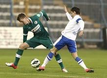 MTK Budapest vs. Győri ETO FC Royalty Free Stock Photo