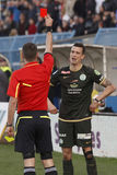 MTK Budapest vs. match för Ferencvaros OTP bankliga Fotografering för Bildbyråer