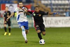 MTK gegen Bank-Ligaspiel Honved OTP Stockfotografie