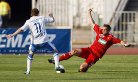 MTK vs. Debrecen Hungarian Cup Final Stock Photography