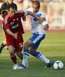 MTK vs. Debrecen Hungarian Cup Final Stock Images