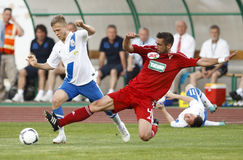 MTK vs. Debrecen Hungarian Cup Final Royalty Free Stock Image