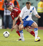MTK vs. Debrecen Hungarian Cup Final Stock Photo