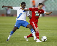 MTK vs. Debrecen Hungarian Cup Final Royalty Free Stock Photo