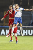 MTK vs. Debreceni VSC football match Royalty Free Stock Photography