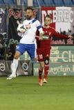 MTK vs. Debreceni VSC football match Stock Images