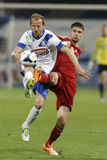 MTK vs. Debreceni VSC football match Stock Image