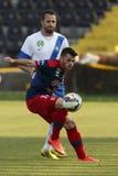 MTK vs Fotbollsmatch för Nyiregyhaza OTP bankliga Arkivfoton