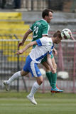 MTK vs. Gyor OTP Bank League football match Stock Photos