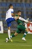 MTK vs. Gyor OTP Bank League football match Stock Images