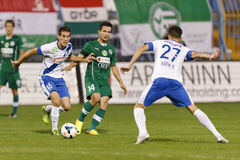 MTK vs. Gyor OTP Bank League football match Stock Photography