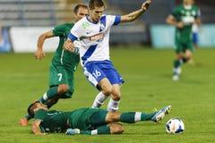 MTK vs. Gyor OTP Bank League football match Stock Photography