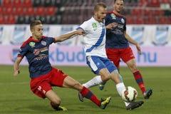 MTK vs. Nyiregyhaza OTP Bank League football match Stock Photos