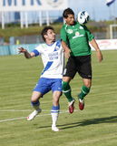 MTK vs. Paks OTP Bank League football match Royalty Free Stock Images