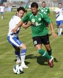 MTK vs. Paks OTP Bank League football match Royalty Free Stock Photos