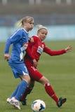 MTK vs. Potsdam football match Stock Image