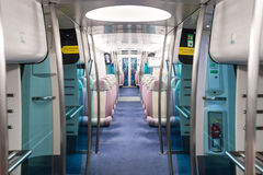 MTR airport express Hongkong Royalty Free Stock Photography
