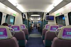 MTR lotnisko ekspresowy Zdjęcia Royalty Free