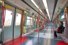 MTR pociąg Obrazy Stock