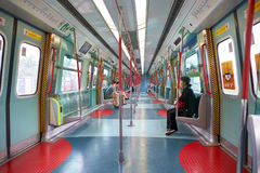 MTR pociąg Zdjęcia Royalty Free