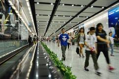 MTR-post in Hong Kong Royalty-vrije Stock Foto