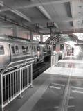 Métro de Delhi Images stock