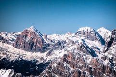 Mts Tofane Imagem de Stock