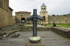 The Svetitskhoveli Monastery. Mtskheta. Georgia.Mtskheta is the ancient capital of Georgia, its cultural and historical center. Mtskheta is the ancient capital stock photo