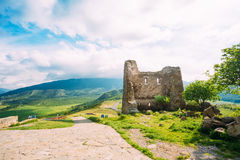 Mtskheta Georgia. Ancient Georgian Church Of Holly Cross, Jvari Stock Image