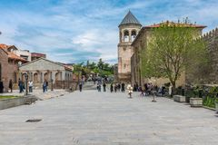 Mtskheta Georgia Eastern Europe Arkivfoto