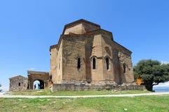 MTSKHETA, GEORGIA - JULY 29, 2013: Jvari Monastery Royalty Free Stock Photography