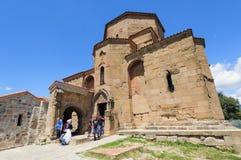 MTSKHETA, GEORGIA - JULY 29, 2013: Jvari Monastery Royalty Free Stock Image