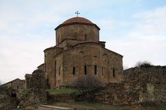 Mtskheta, Georgia Monasterio ortodoxo georgiano de Jvari imagen de archivo