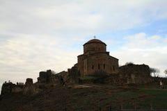 Mtskheta, Georgia Monasterio ortodoxo georgiano de Jvari fotos de archivo