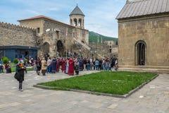 Mtskheta Gruzja Europa Wschodnia Zdjęcia Royalty Free