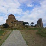 Mtskheta Jvari Monastery Main View stock photo
