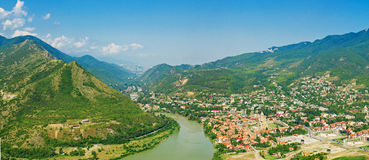 Mtskheta view Royalty Free Stock Images
