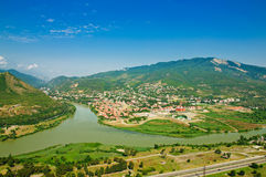 Mtskheta view Royalty Free Stock Photography