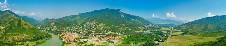 Mtskheta view Royalty Free Stock Photo
