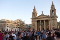 MTV festiwal muzyki w Malta Obrazy Stock