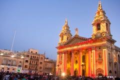 MTV musikfestival i Malta Royaltyfria Bilder